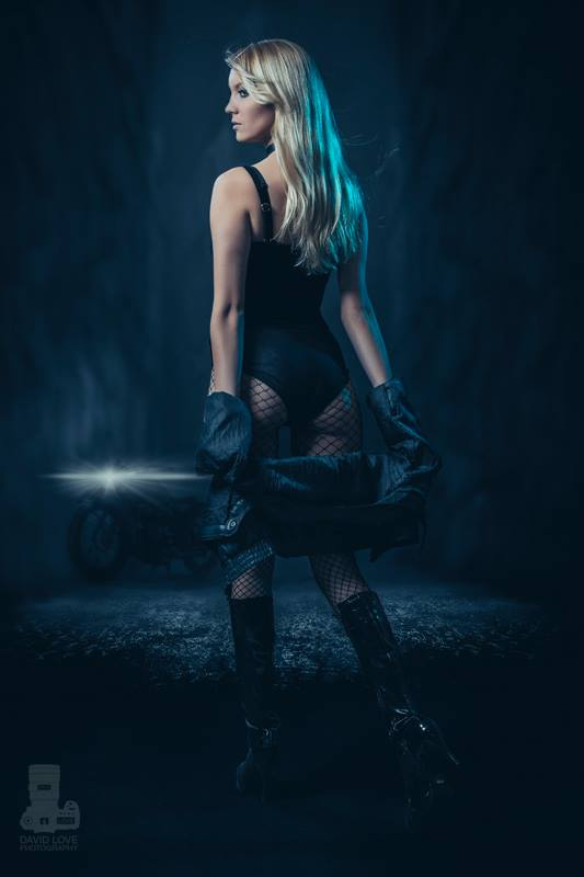 Heather Leet is Black Canary | Photography by David Love Photography