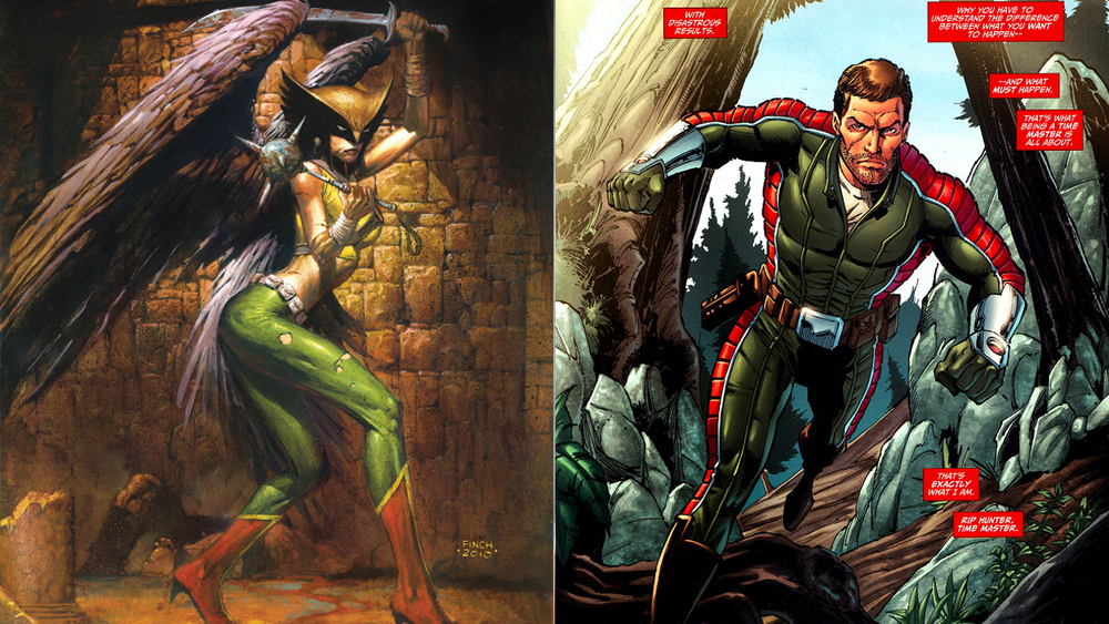 Hawkman Cast for The CW's