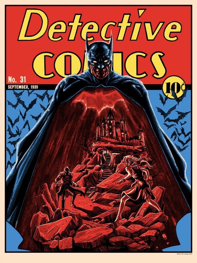 Superb detective ics inspired batman art by tim doyle