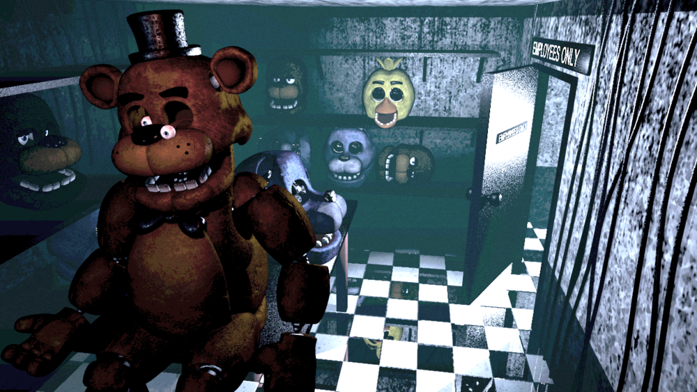 five-night-at-freddys-video-game-will-be-a-feature-film