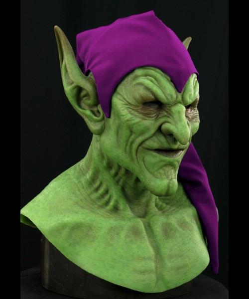 green_goblin_mask_02-500x600.jpg & Frightening Green Goblin Silicone Mask u2014 GeekTyrant