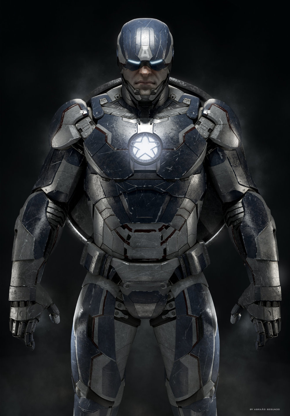 iron in america This has already been played out in the comics during the first civil war arc they faced off in a hand to hand fight twice one time cap had vision disrupt the ai in the iron man suit so tony relied solely on his own fighting techniques and didn'.