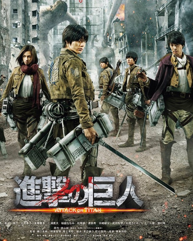Live-Action ATTACK ON TITAN Movie Has A Thrilling New