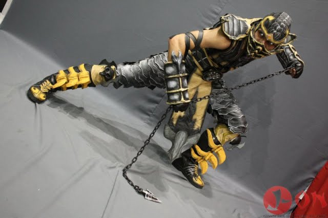 Scorpion Cosplay mortal kombat X by melonicor on DeviantArt