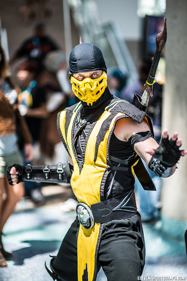 Scorpion Cosplay – Mortal Kombat | Fun Channel Network