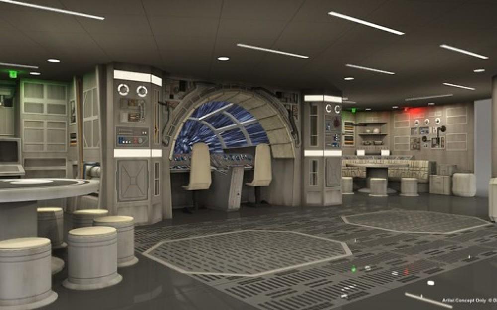 Disney Star Wars Cruise Ship Adds A Millennium Falcon Play Area
