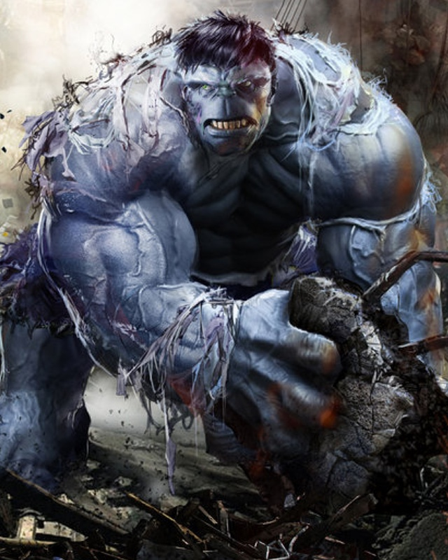 grey hulk was originally supposed to appear in avengers