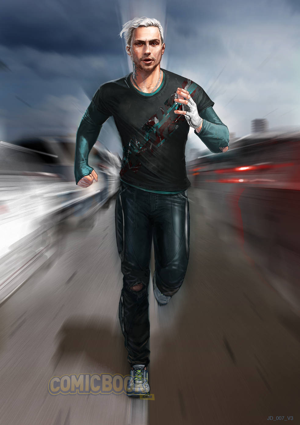 Alternate Designs for Quicksilver in Concept Art for AGE ...