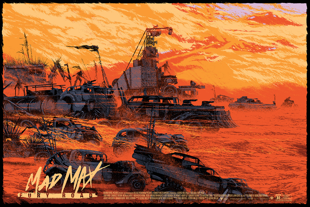 Préférence Great New MAD MAX: FURY ROAD Poster and Mondo Art Series — GeekTyrant QB88