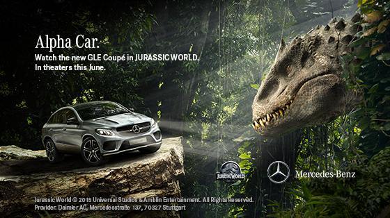 Jurassic World Tv Spot Ingen Viral Video Mercedes Ad Dua Spots Geektyrant
