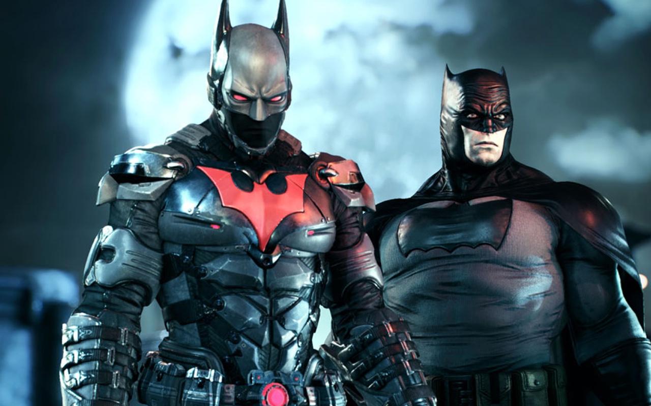 BATMAN ARKHAM KNIGHT 7 Minutes Of Gameplay And New Batman Skins GeekTyrant