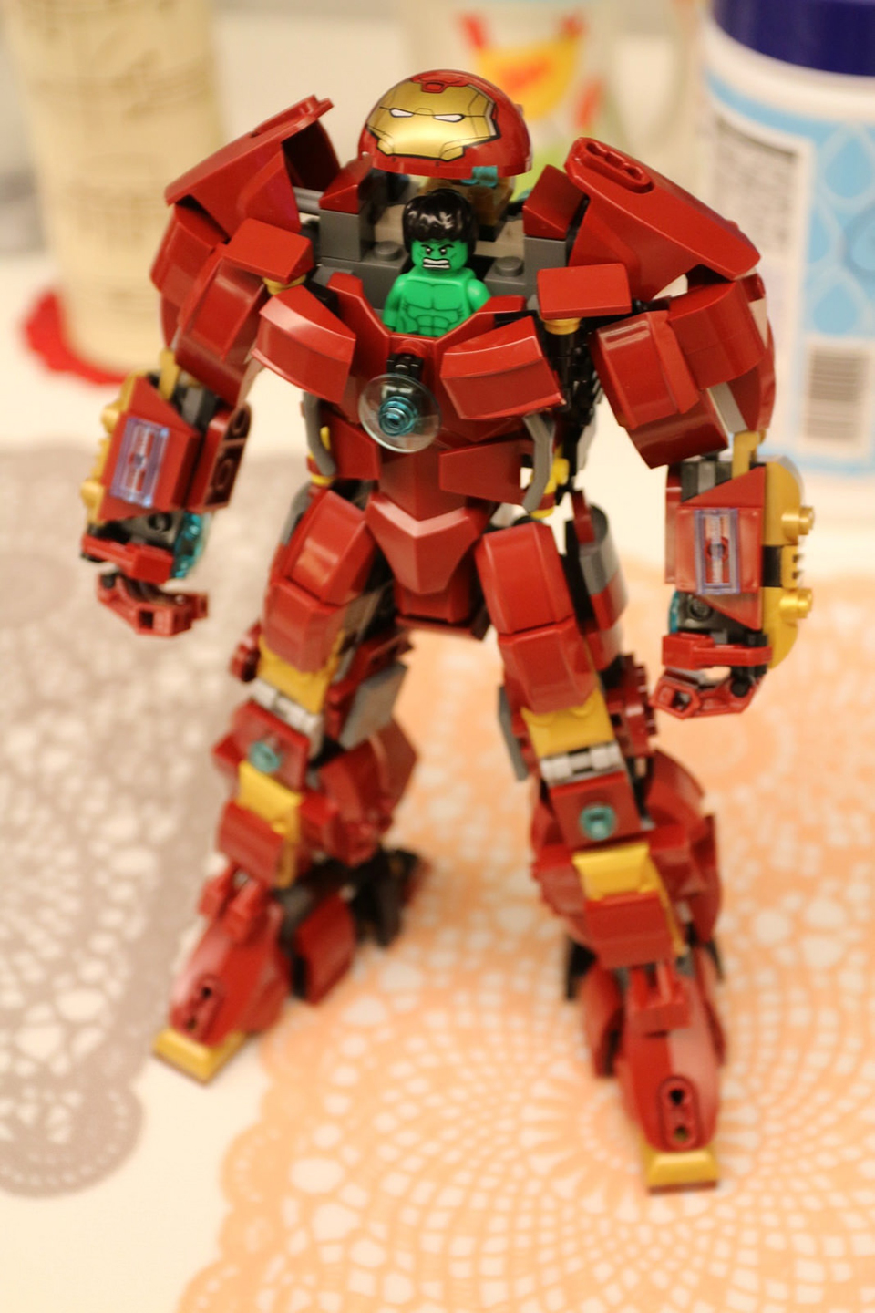 Menacing Custom Made Lego Hulkbuster Armor Geektyrant
