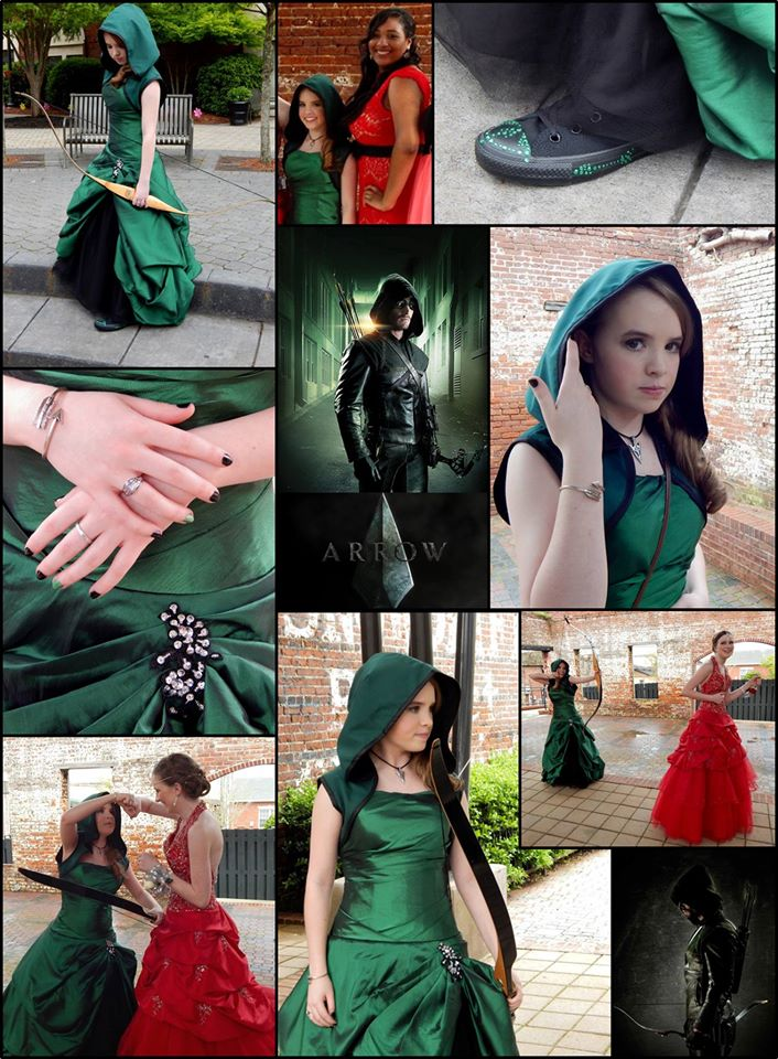 Prom-in-arrow-inspired