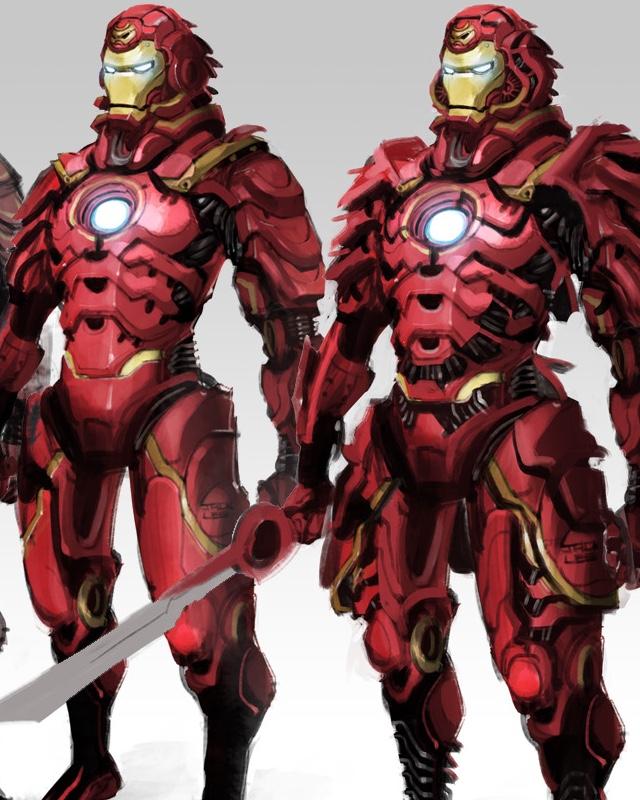 Wicked Iron Man Samurai Armor Design GeekTyrant