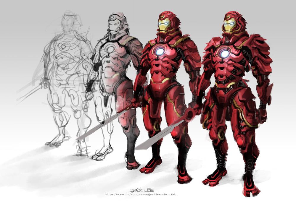 Wicked Iron Man Samurai Armor Design — GeekTyrant