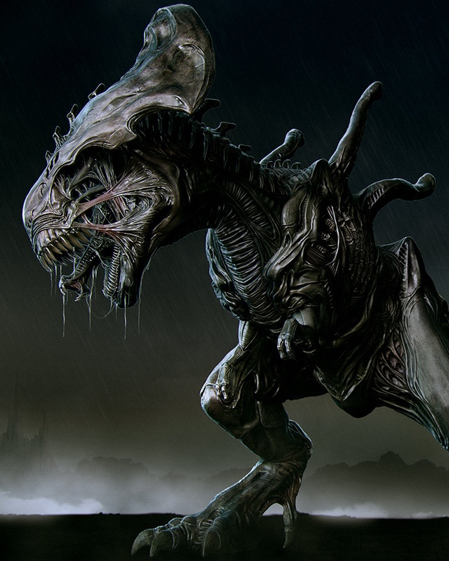 This Xenomorph T-Rex Is Much More Terrifying Than the ...