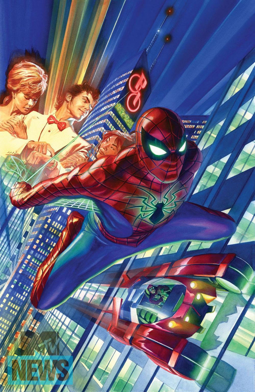 Alex ross spiderman white - photo#8