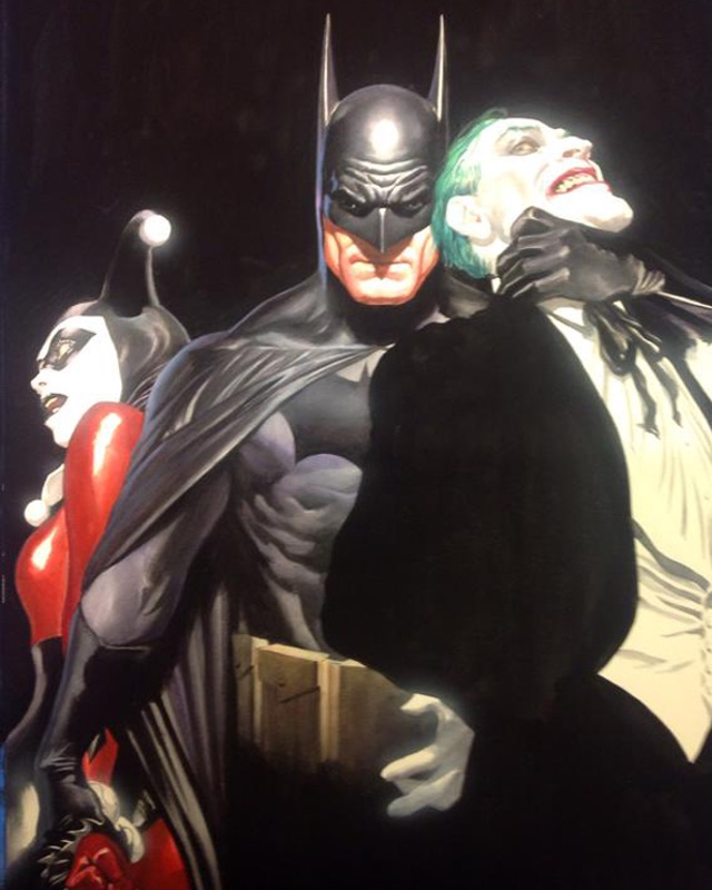 Geek Art: The Joker and Harley Quinn Bag a Bat for Christmas ...