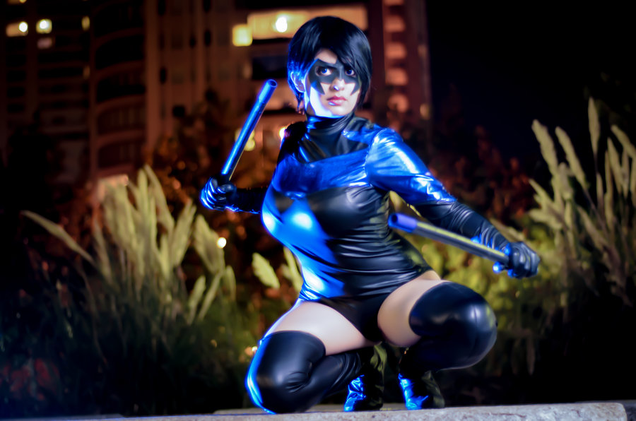 Yutarna Thetys  is Nightwing | Photo by  Sebastian Gambolati