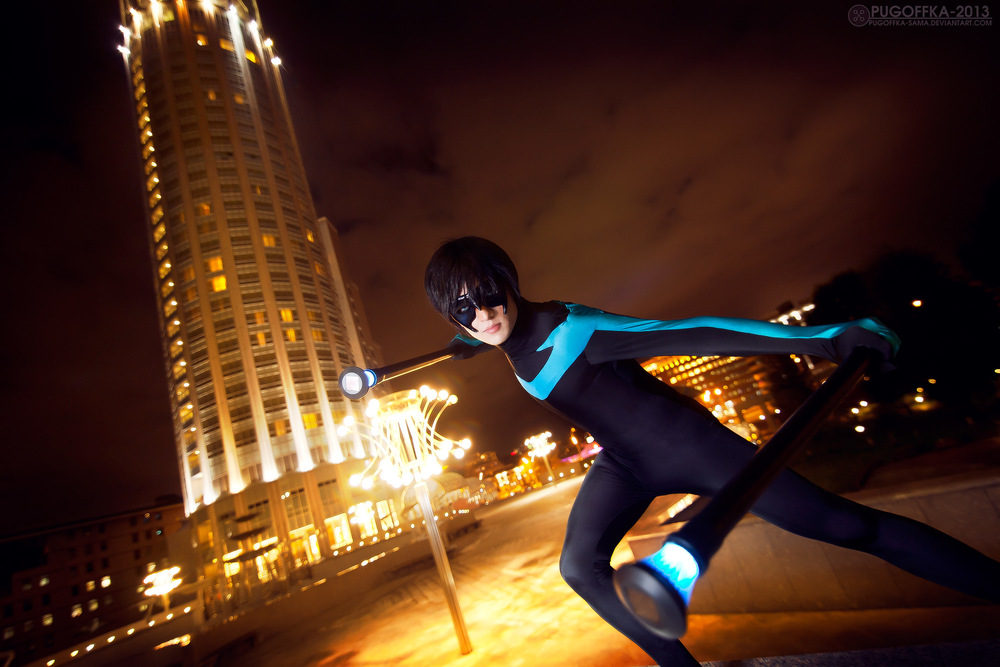 Amethyst Prince  is Nightwing | Photo by  Pugoffka-Sama