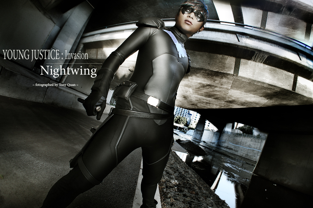 OhJimmyBoy  is Nightwing | Photo by  Tony Quan