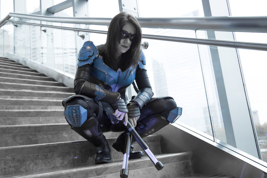 Unknown is Nightwing | Photo by  RJW Photography