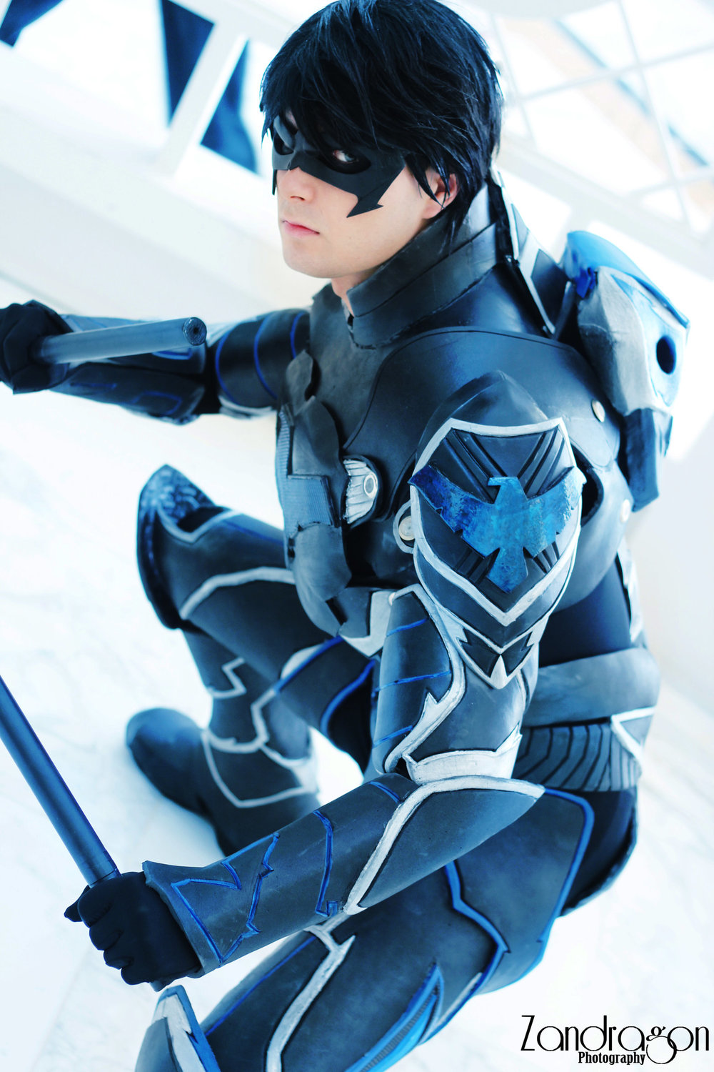 Cloudbreak Cosplay  is Nightwing | Photo by  Zandragon Photography