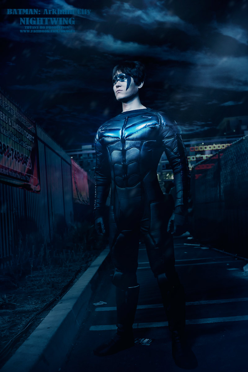 SoCoPHD Pepper  Is Nightwing | Photo by  Okageo