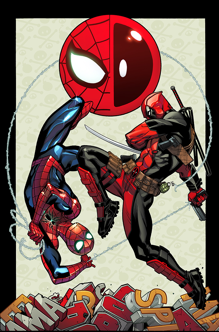 New spider man deadpool comic book series announced here - Et spider man ...