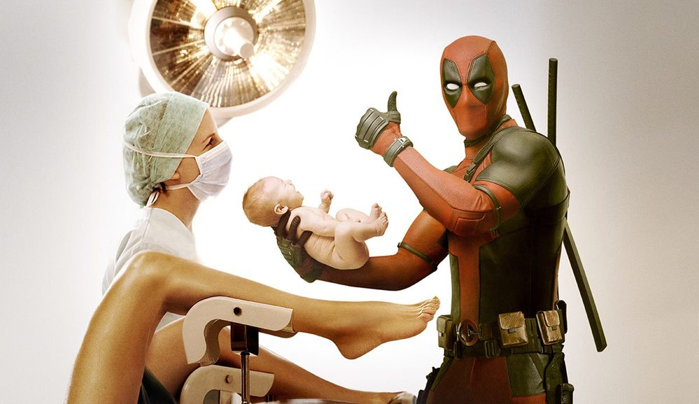 Deadpool sex scene