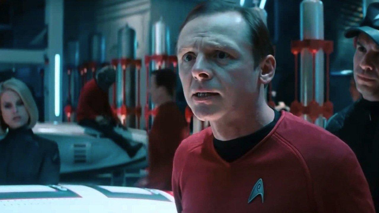 """Simon Pegg - Lieutenant Commander Montgomery """"Scotty"""" Scott"""