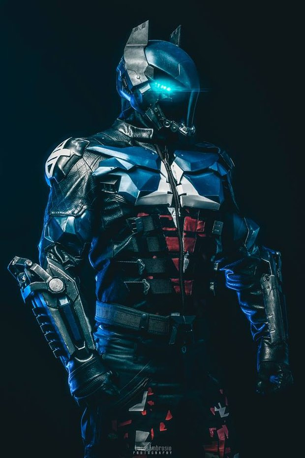 Stunning 3d Printed Batman Arkham Knight Cosplay Geektyrant