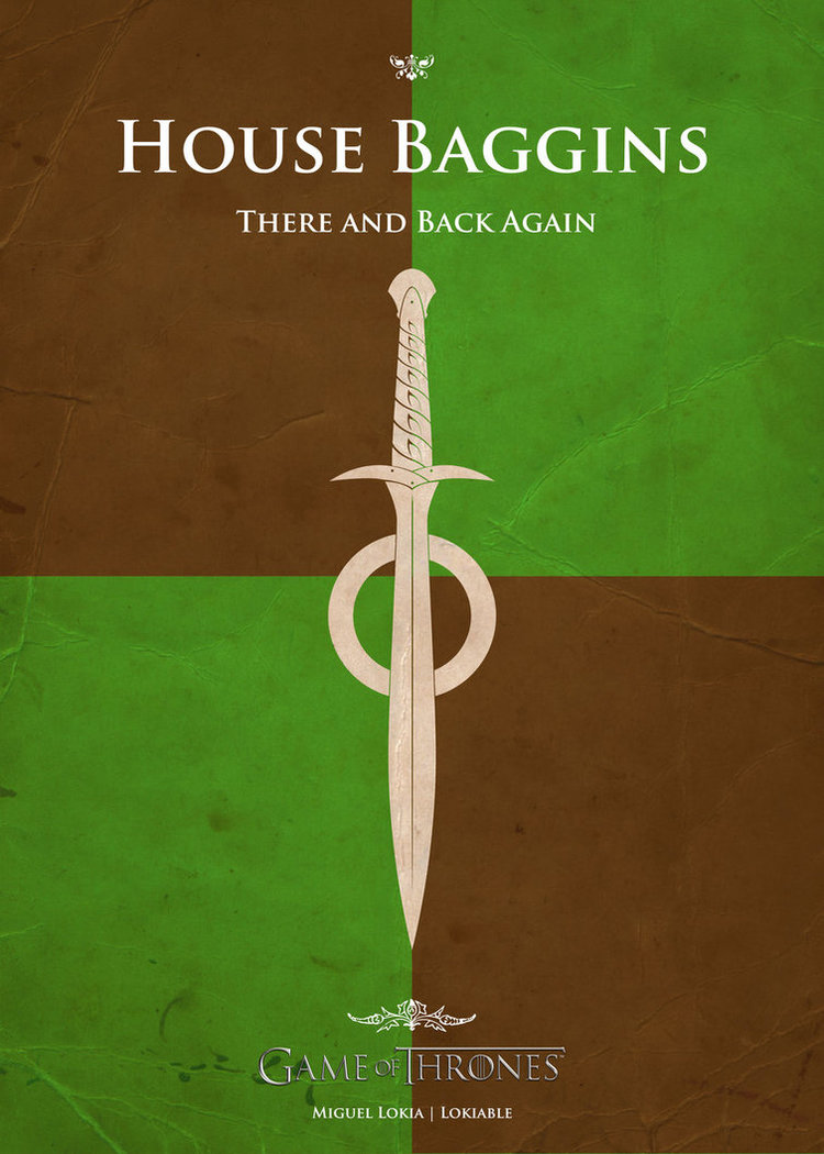 Pop Culture Characters Get Their Own Game Of Thrones House Banners