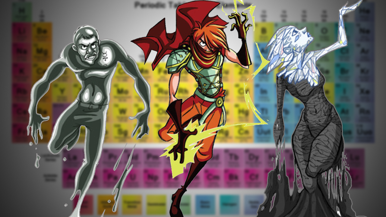 The amazing comic style characters of the periodic table geektyrant floating around the internet since november of 2011 has been this amazingly unique take on the periodic table of elements as a part of her senior thesis at urtaz Gallery