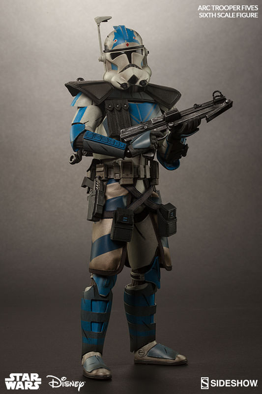 sideshow collectibles arc clone trooper fives phase ii