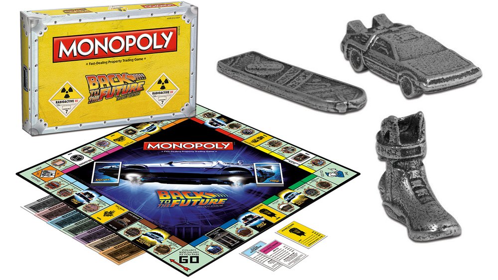 Back to the future monopoly
