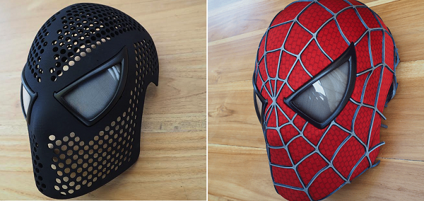 Video Make Your Own 3d Printed Spider Man Mask Geektyrant