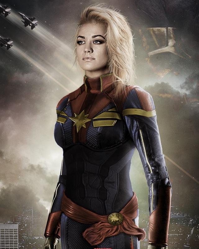 captain marvel yvonne