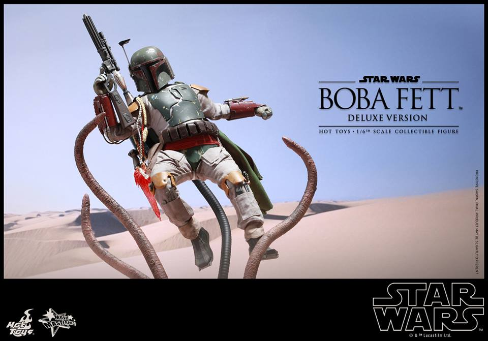 hot toys return of the jedi boba fett action figure with