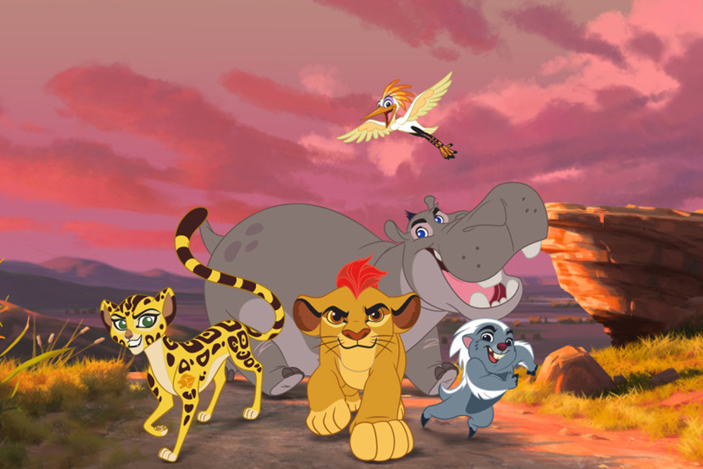 Trailer and Clip from LION KING Sequel Series THE LION ...