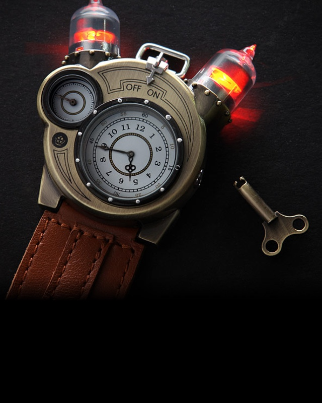 051b014be The Tesla Watch Is a Work of Steampunk Chronometer Art