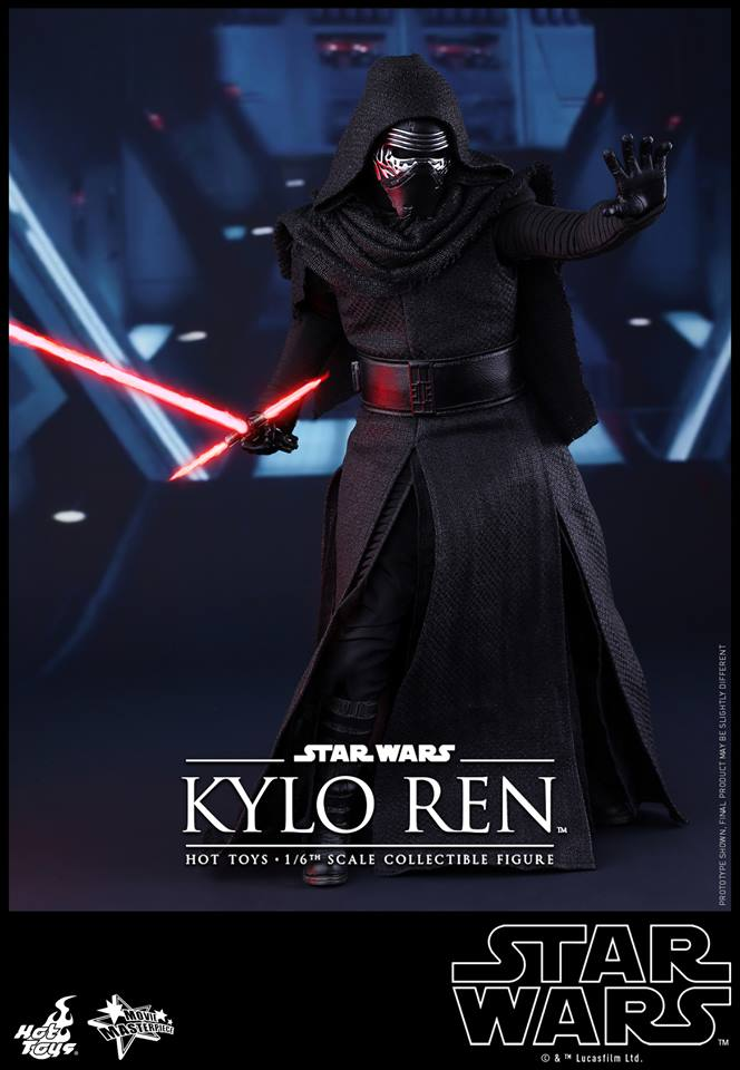 hot toys u0026 39  the force awakens kylo ren and stormtrooper