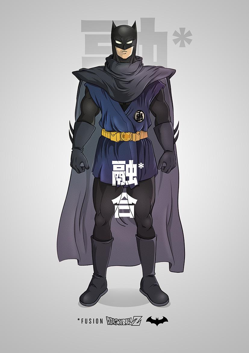 superhero-and-dragonball-z-mashup-art-series