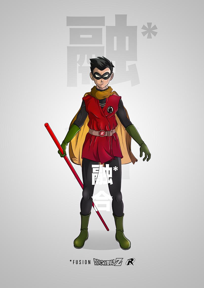 superhero-and-dragonball-z-mashup-art-series1