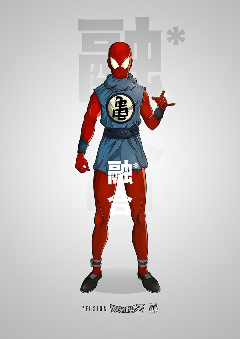 superhero-and-dragonball-z-mashup-art-series4