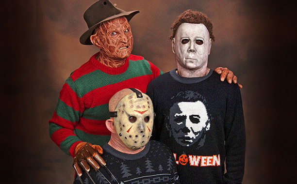Horror Themed Holiday Sweaters From Mondo Geektyrant