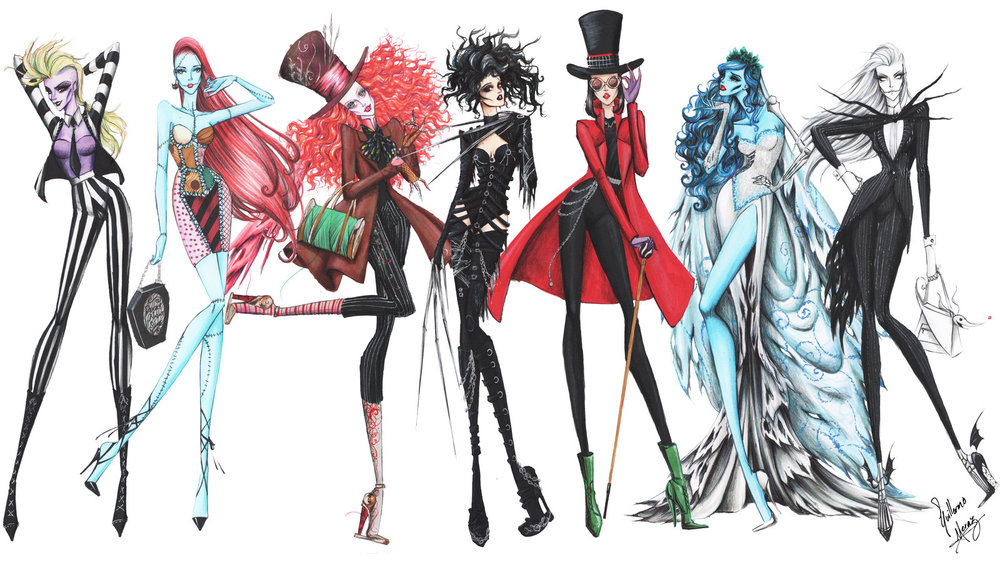 2019 year for women- Inspired Fashion by Art: The Drawings