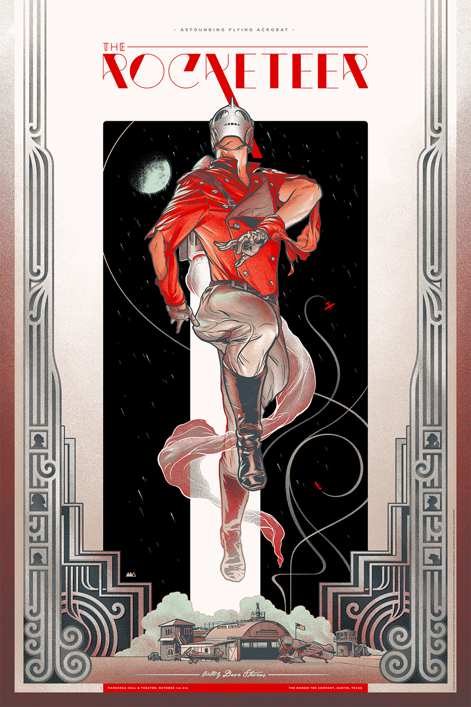 Beautiful Rocketeer Poster Art By Martin Ansin Geektyrant