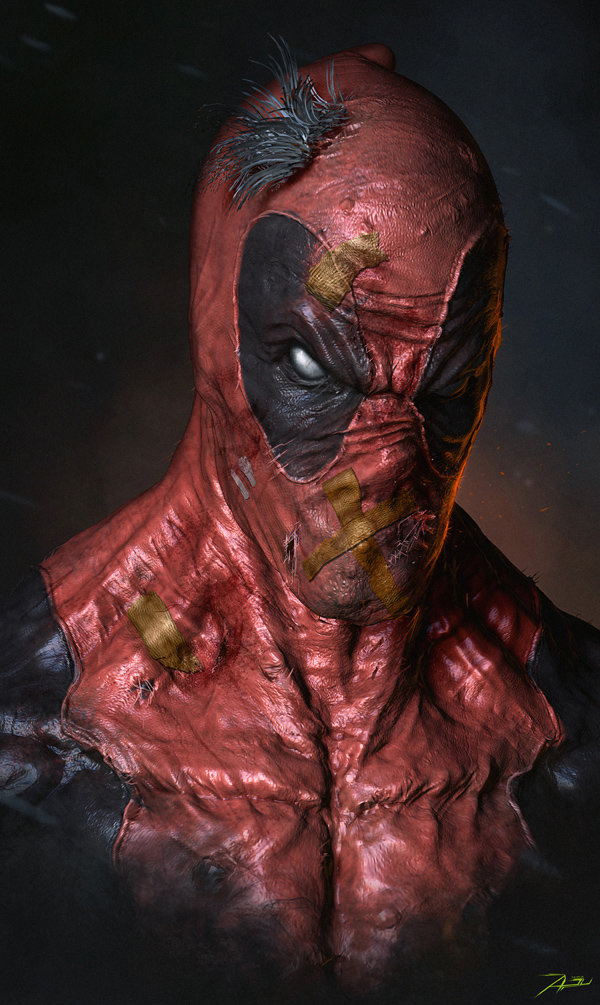 gritty-superhero-portrait-art-featuring-deadpool-ninja-turtles-and-more1