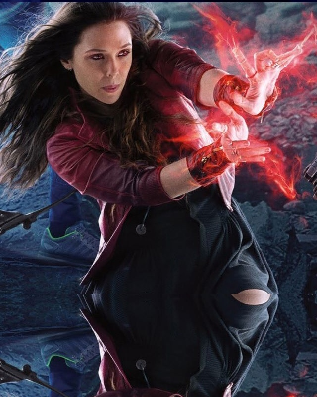 Elizabeth Olsen Discusses Scarlet Witch Quot Coming Into Her